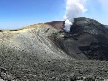 crateri sommitali dell'etna